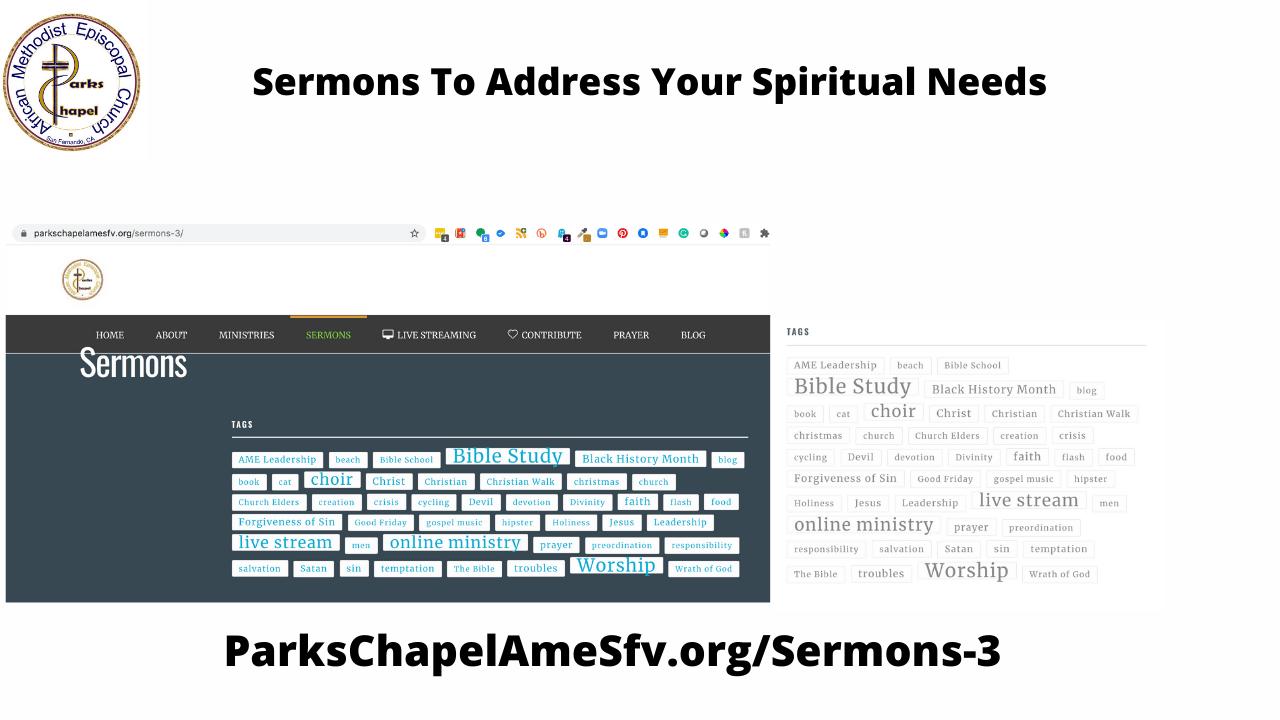 Sermon Choices